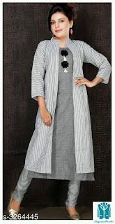 Stylish Rayon Cotton  Women's Kurtis