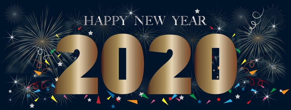 latest happy new year images 2020