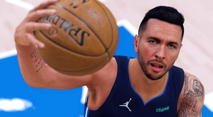 NBA 2K22 JJ REDICK CYBERFACE , HAR AND BODY MODEL BY AE2k