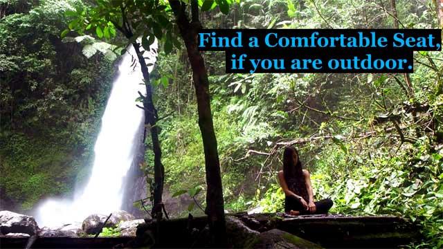 Outdoor Meditation Practice of Shambhavi Mahamudra