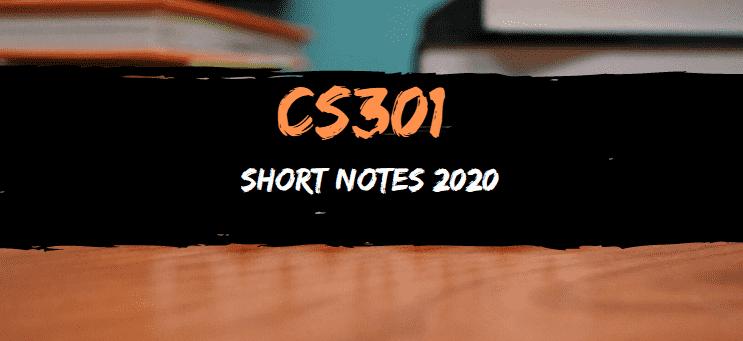 cs301 short