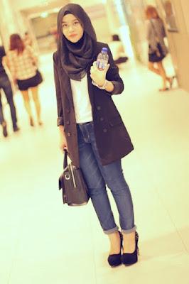 Contoh Hijab Casual Simpel