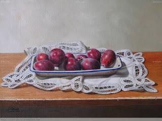 realistas-pinturas-al-oleo-con-naturalezas-muertas cuadros-realistas-bodegones-pinturas