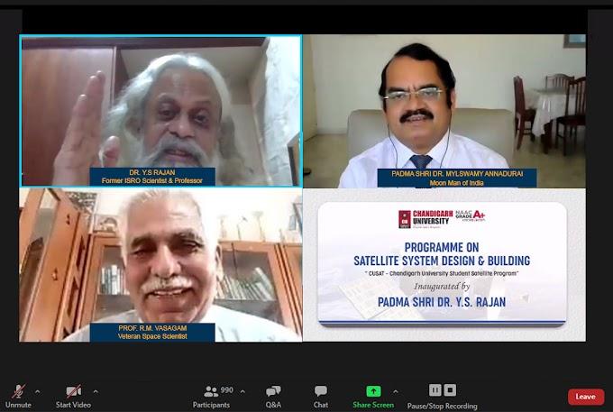 Chandigarh University launches North India's First Satellite Designing Program 'CUSAT'