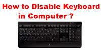windows 10 disable lock screen keyboard