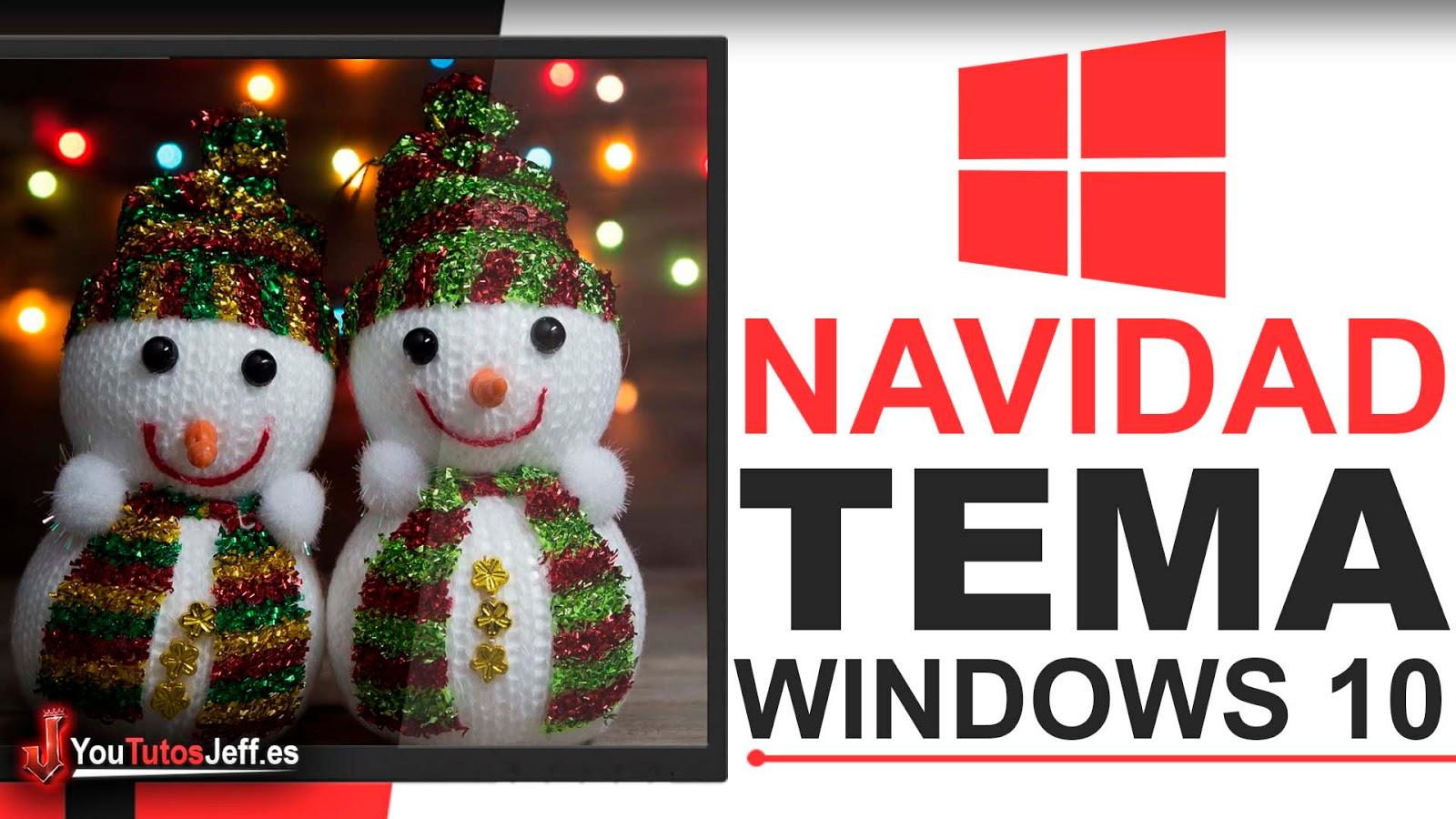 Tema Navidad Windows 10