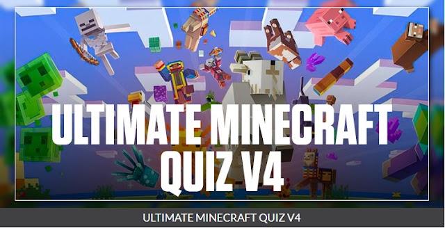 Ultimate Minecraft Quiz V4 quizdiva