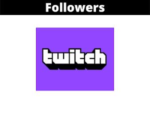 Jual Followers Twitch Murah Terpercaya (100 Followers)