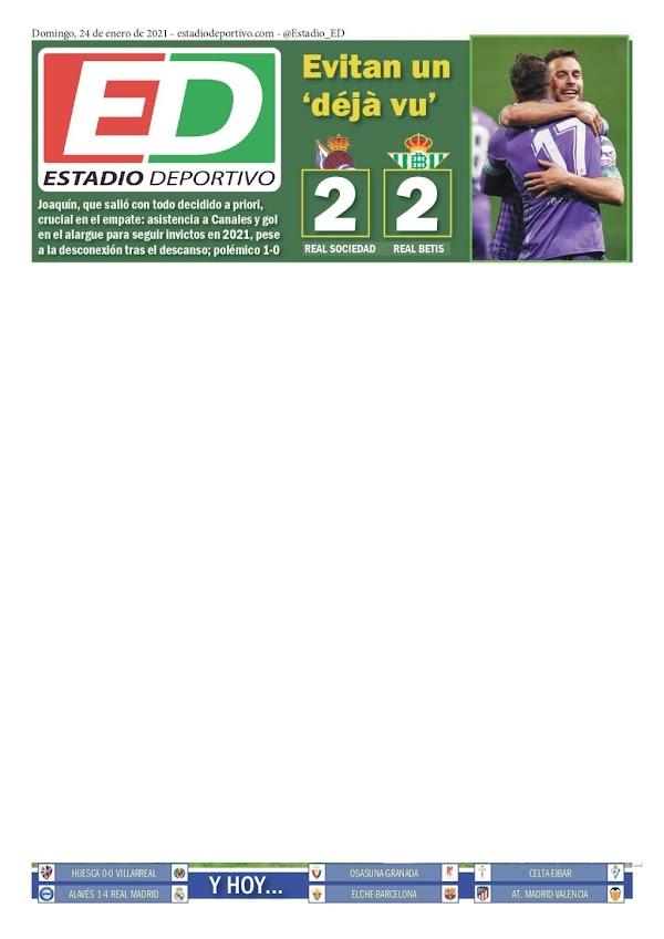 "Betis, Estadio Deportivo: ""Evitan un déjà vu"""