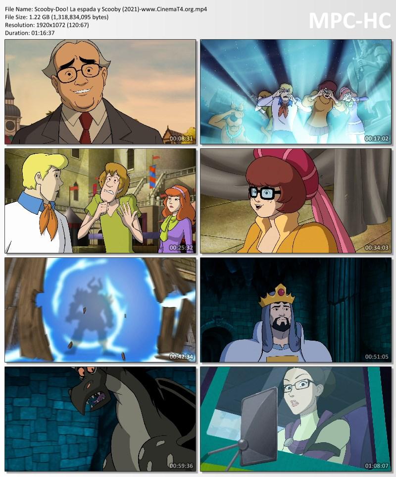 La espada y Scooby 1080p latino mega y google drive