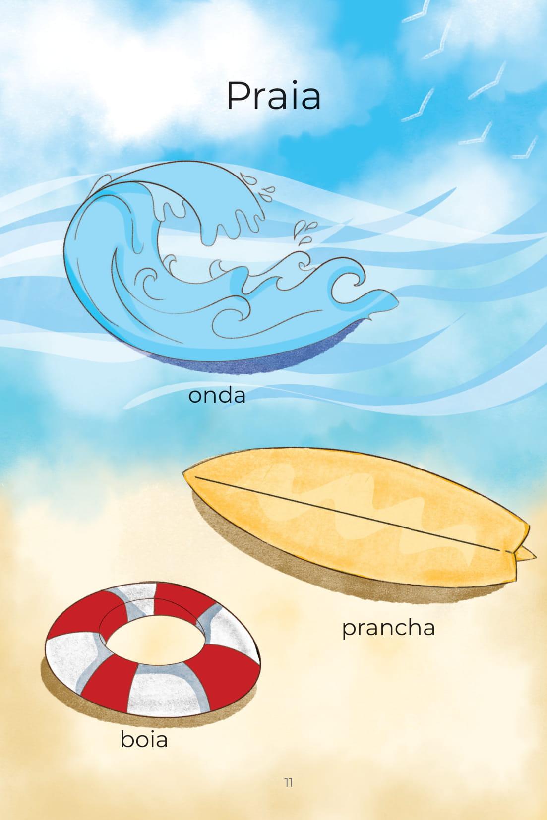 Praia onda prancha boia