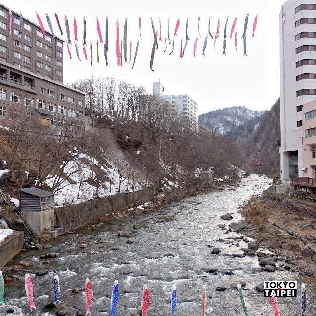【定山溪溫泉】札幌近郊溫泉鄉 在溪流邊探訪河童