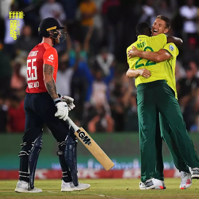 South Africa vs England 2nd T20 Match 2020