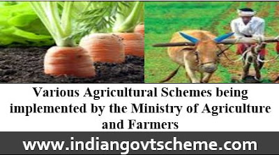 Various Agricultural Schemes