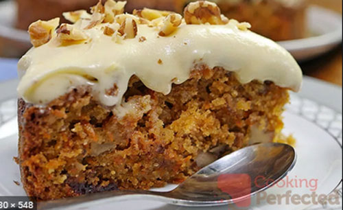 Gluten-Free Carrot Cake.  Image source Cooking Perfected