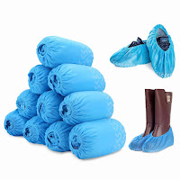 100 Pack Disposable Shoe Covers