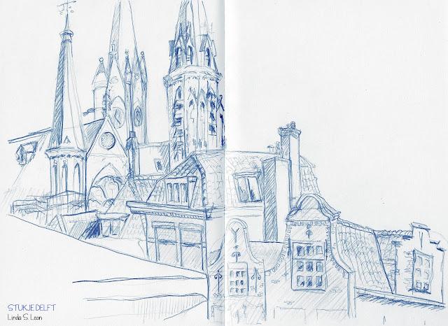 Delft door Linda S. Leon
