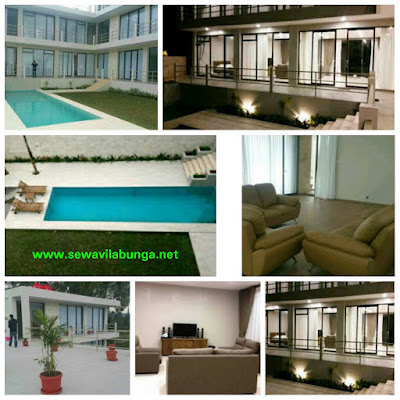 Villa Sky View Private Pool - Villa 8 Kamar Istana Bunga Lembang