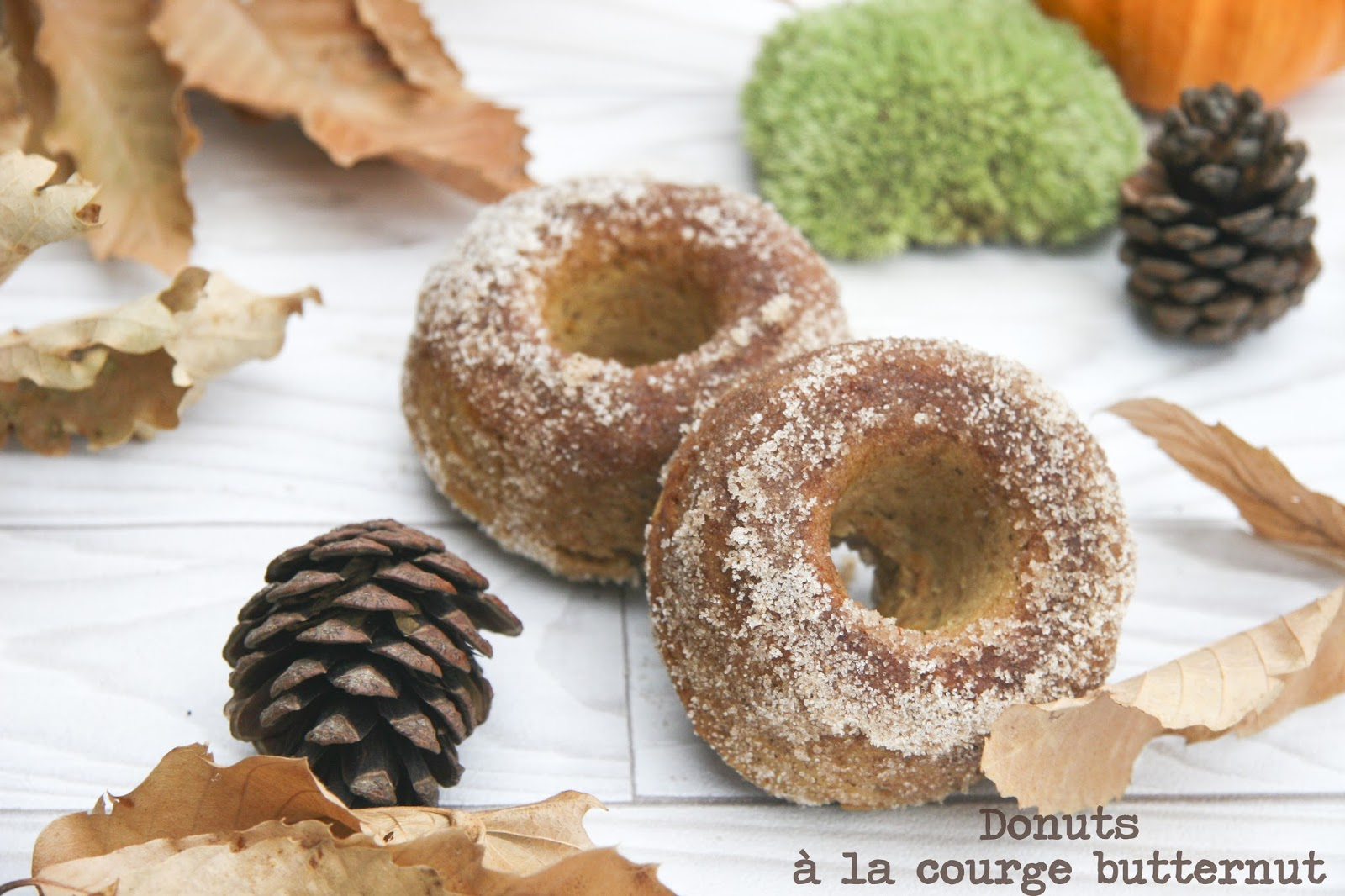 donuts la courge butternut cuits au four. Black Bedroom Furniture Sets. Home Design Ideas