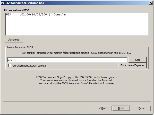 Tips: Cara bermain game PS2 (Playstation 2) di Windows & Linux via