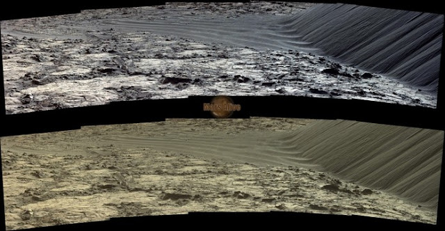 Sol 1204 Curiosity Left Mastcam (M-34) Pahrump Hills
