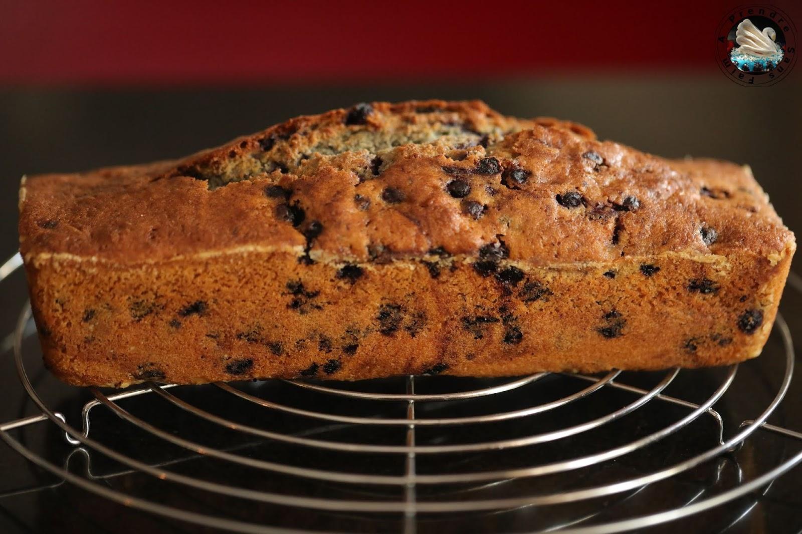 Cake aux myrtilles surgelées