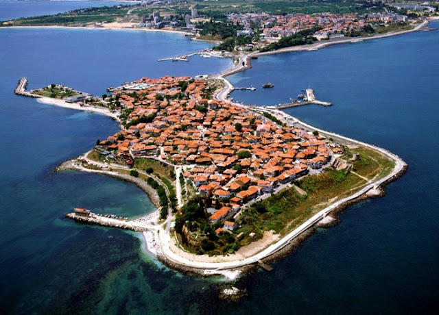 Casco antiguo de Nesebar Bulgaria