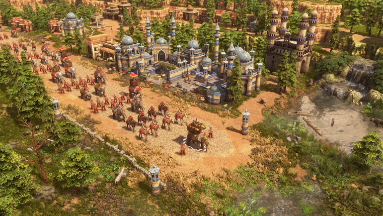 Age of Empires 3 Definitive Edition: gameplay