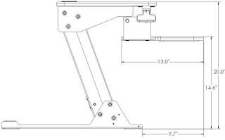 Systematix Volante Dimensions