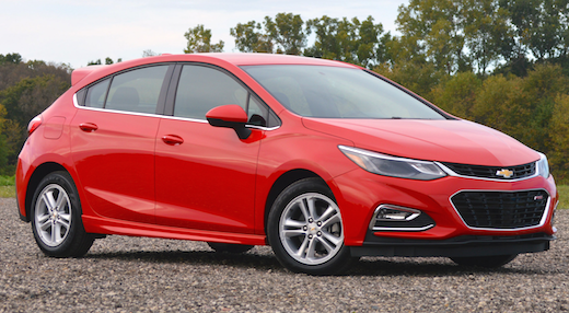 2019 Chevy Cruze Hatchback Release Date