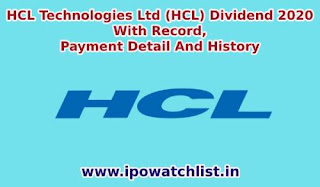 hcl-dividend-detail