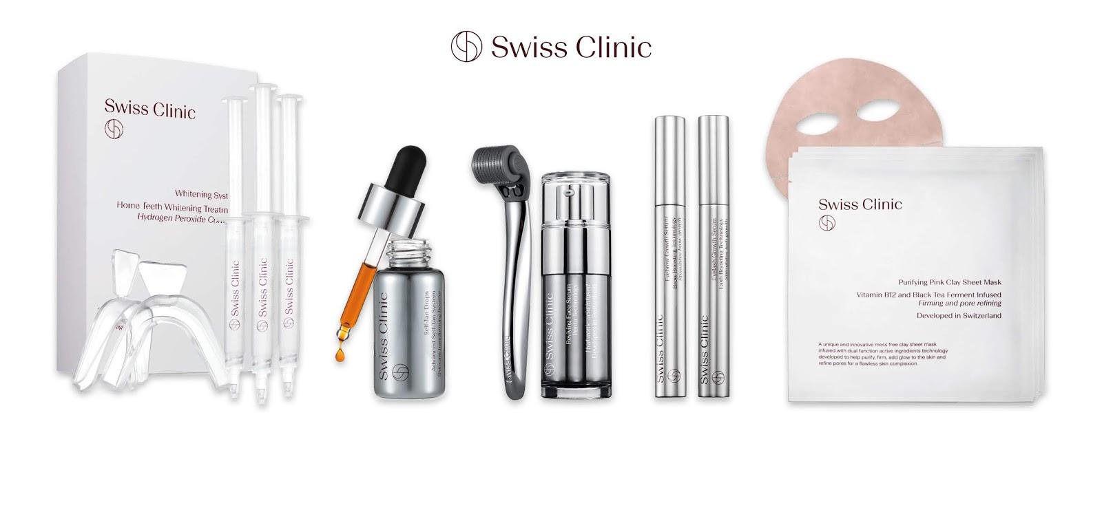 Swiss Clinic - Skönhetsbehandlingar för hemmabruk - 20% på allt!