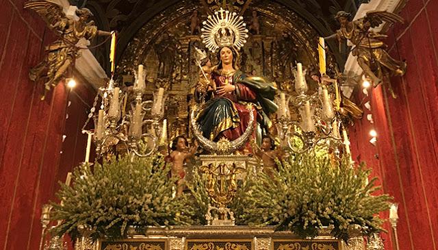 Olivares celebra una magna veneración mariana con once imágenes expuestas