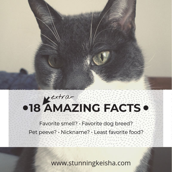 18 Extra-Amazing Facts About Me