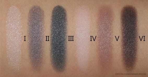 NARS Sarah Moon Give In Take Dual-Intensity Eyeshadows Palette Swatches