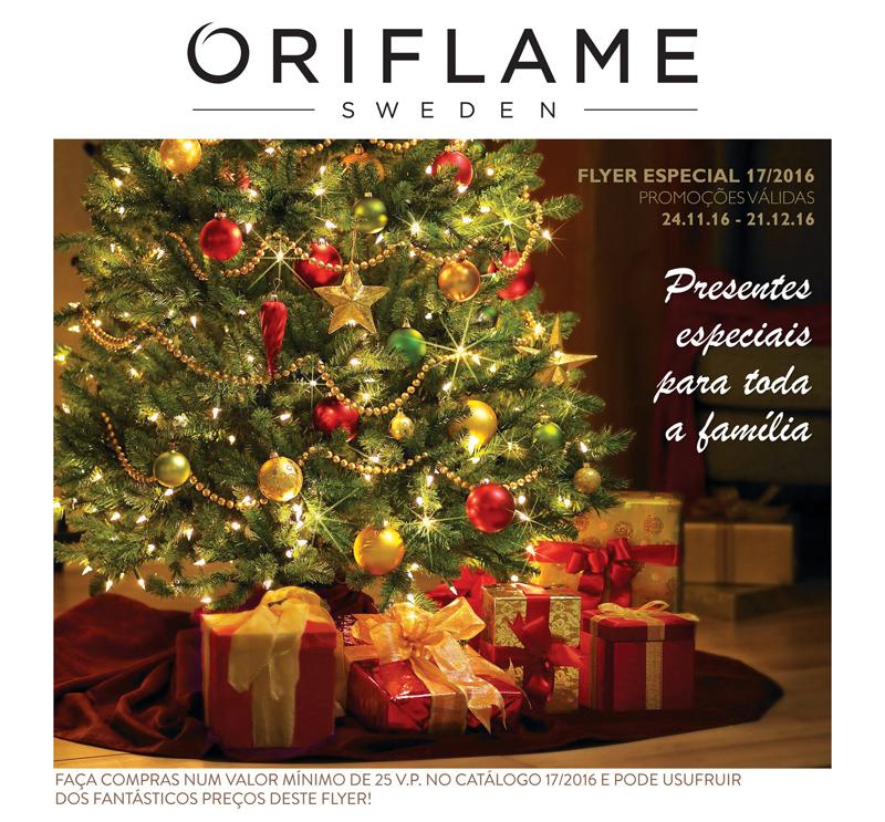Flyer do Catálogo 17 de 2016 da Oriflame