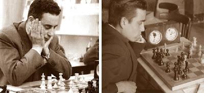Los ajedrecistas Miquel Albareda Creus y Joaquim Travesset Barba