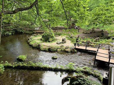 ふきだし公園 湧水地