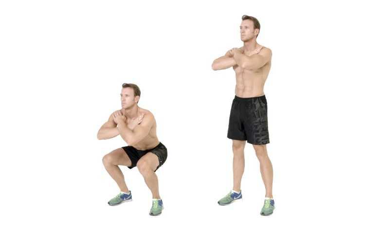 Squat bacakları ve kalçaları aynı anda çalıştırır, hızlı yaparsanız kalori de yaktırır.
