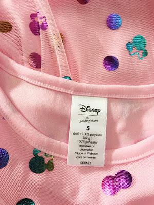 Đầm Jumping beans Disney, hàng xuất dư, made in vietnam.