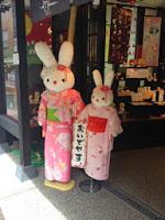 Coniglietti in kimono
