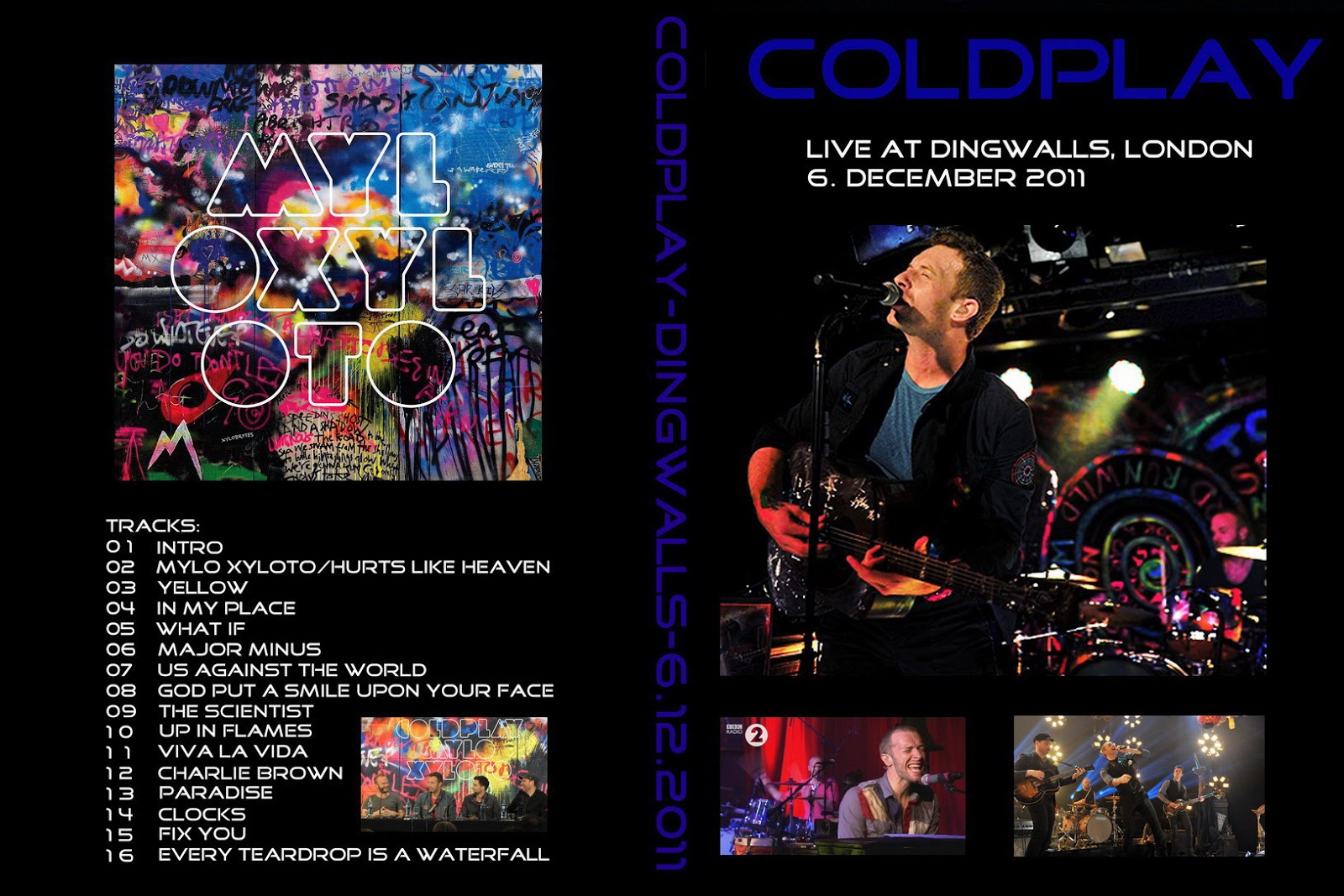 Coldplay - Live London, UK 2011 DVD
