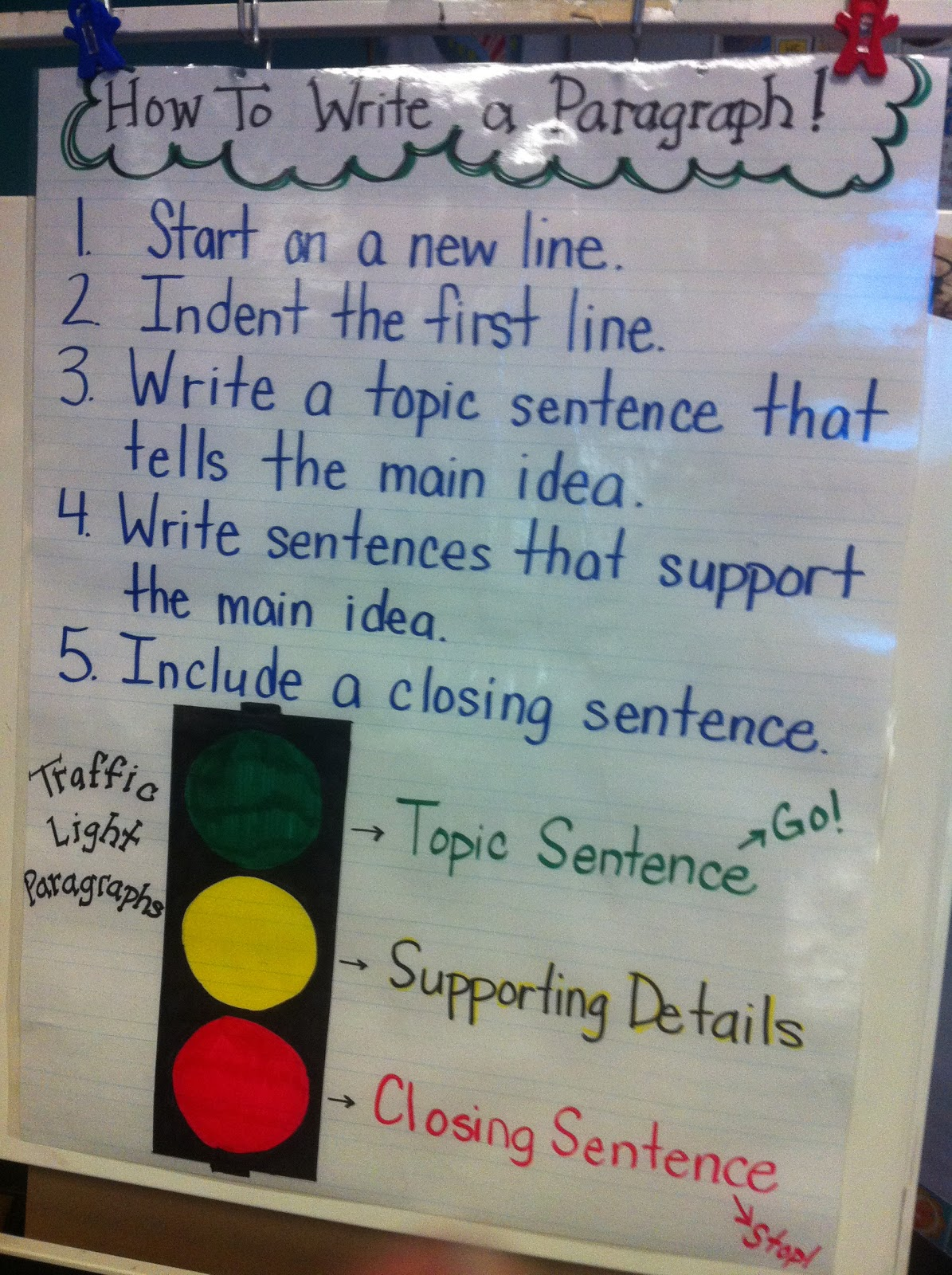 hight resolution of Mrs. Prince and Co.: Stoplight Paragraphs