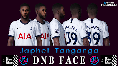 PES 2020 Faces Japhet Tanganga by DNB