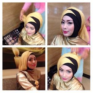 9 Contoh Model Hijab Modern Untuk Kebaya