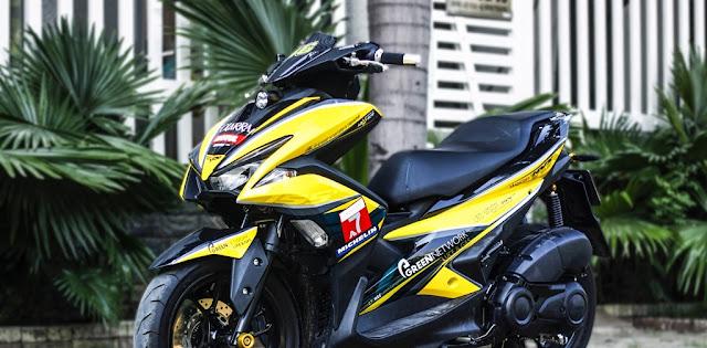 Mẫu Xe Winner 150 sơn phối màu vàng đen cực đẹp