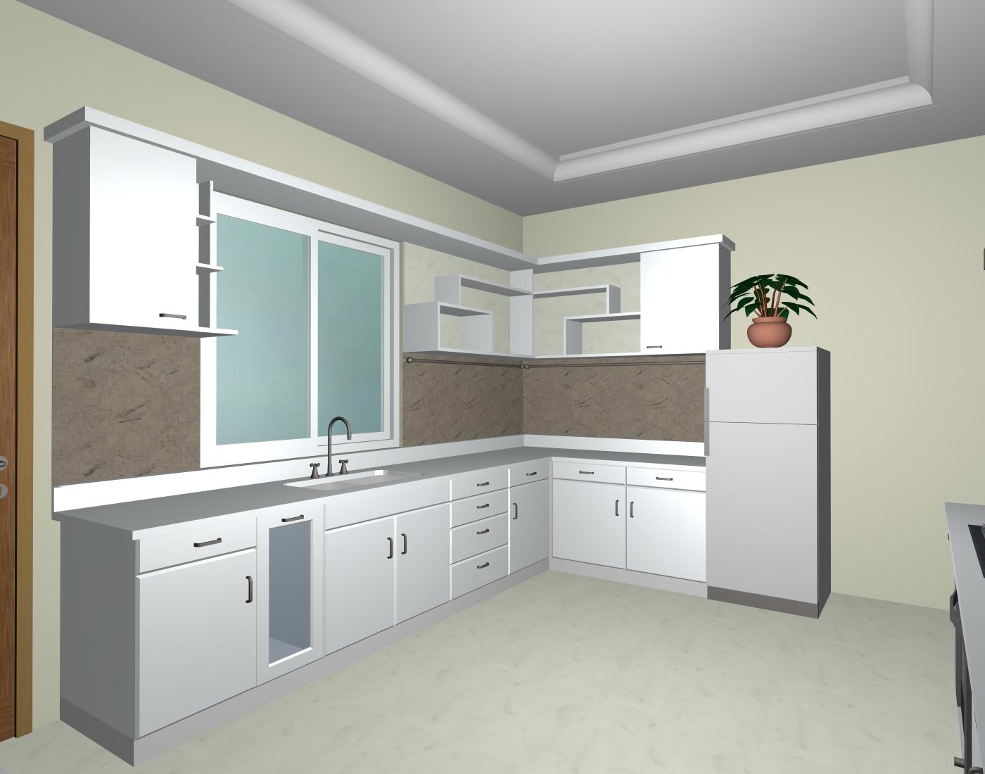Membuat kitchen set anti rayap