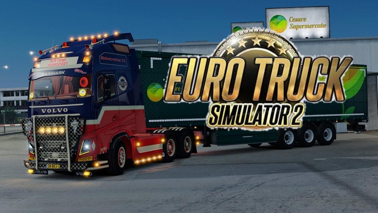 تنزيل لعبة euro truck simulator 2 كاملة