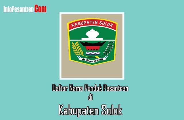 Daftar Pesantren di Kabupaten Solok