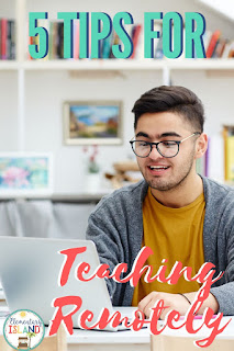 distance learning and remote teaching tips and tricks
